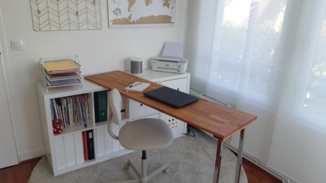 bureau maison gain de place