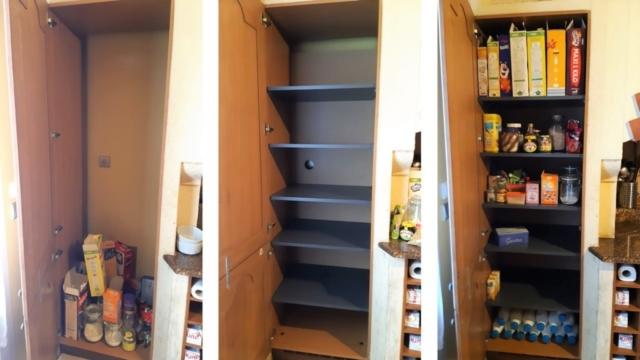 placard de cuisine sur mesure aménagement fonctionnelle